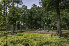 Drezdenko - Miniaturpark Lizenzfreie Stockfotografie