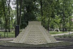 Drezdenko - Miniaturpark Stockbild