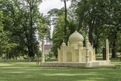 Drezdenko - miniatuurpark Royalty-vrije Stock Afbeeldingen