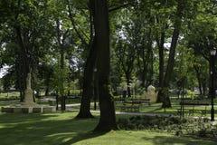 Drezdenko - parc miniature Image stock