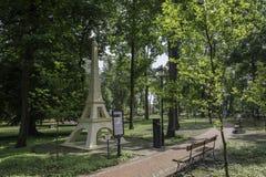 Drezdenko - parco miniatura Fotografie Stock Libere da Diritti
