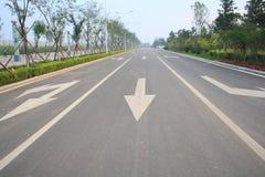 dróg miejskich Zdjęcie Stock