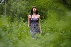 Driáda del bosque. Imagenes de archivo