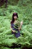 Driáda del bosque. Fotos de archivo