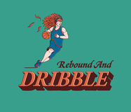 Dribble Stock Image