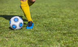 Dribbling Stock Photography