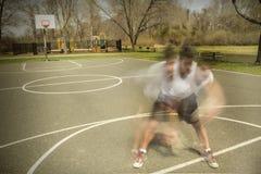 Dribbling Motion Blur Stock Photo