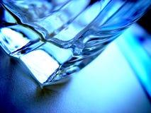 dricka exponeringsglas Arkivbilder