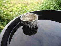 dricka exponeringsglas Arkivfoton