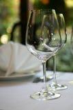 dricka exponeringsglas Royaltyfri Fotografi