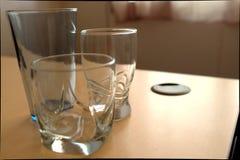 dricka exponeringsglas Royaltyfria Foton
