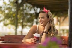 dricka för kaffe Royaltyfri Bild