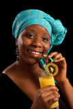 dricka fruktsaft Royaltyfri Fotografi