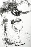 dricka glass undervattens- Royaltyfri Fotografi