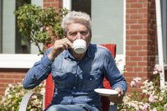dricka man för kaffe Royaltyfria Bilder