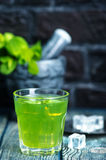 dricka minten Fotografering för Bildbyråer