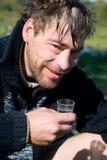 dricka skurk- vodka arkivfoto