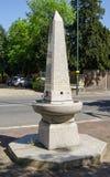 Dricka springbrunn för obelisk, Teddington royaltyfri fotografi
