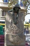Dricka springbrunnen i gatadiagonalen Royaltyfri Bild