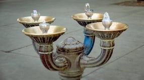 Dricka springbrunnen i Portland, Oregon Royaltyfria Foton
