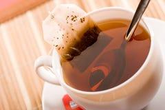 dricka tea Royaltyfri Bild