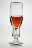 dricker exponeringsglas Royaltyfri Foto