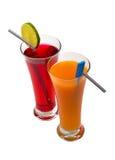 dricker nytt Royaltyfri Foto