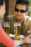 dricker romantiker Royaltyfria Bilder
