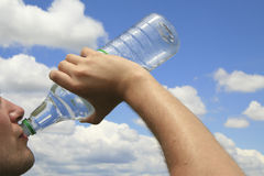 dricksvatten Royaltyfria Foton