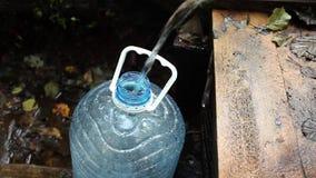 Dricksvatten stock video