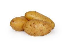 Drie aardappels Stock Fotografie