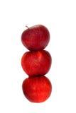 Drie appelen Royalty-vrije Stock Afbeeldingen