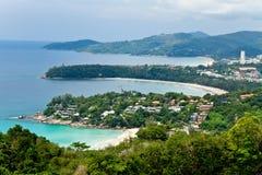 Drie baai phuket Thailand Stock Afbeelding