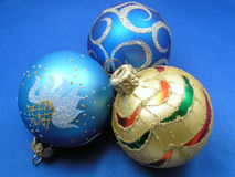 Drie ballen Royalty-vrije Stock Afbeelding