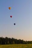 Drie ballons Stock Fotografie
