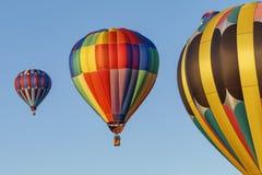 Drie ballons Stock Foto