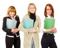 Drie bedrijfsvrouwen Royalty-vrije Stock Foto's
