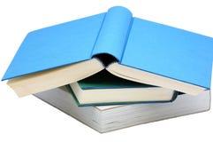 Drie boeken Royalty-vrije Stock Foto's