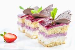 Drie cakes Royalty-vrije Stock Foto