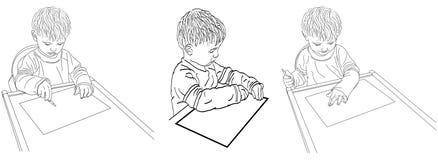 PT-jonge Kunstenaar Stock Afbeeldingen