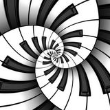 Drie 3D Toetsenbordspiralen vector illustratie