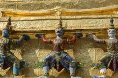 Drie demonen Yaksha Stock Afbeeldingen