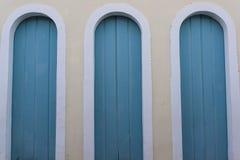 Drie deuren, Lençà ³ is, Chapada Diamantina, Bahia, Brazilië stock fotografie