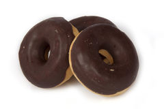 Drie donuts Stock Foto's