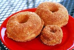 Drie donuts royalty-vrije stock foto