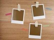Drie duidelijke polas Stock Afbeelding