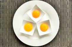 Drie eieren Royalty-vrije Stock Afbeelding