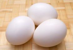 Drie eieren Royalty-vrije Stock Foto