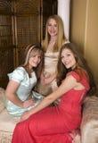 Drie formals stock foto