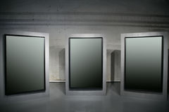 Drie frames royalty-vrije stock afbeelding